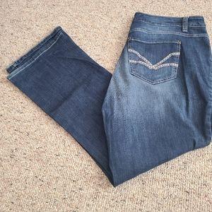 Nine West Vintage Boot Cut Jeans 14W